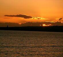 Sunset in Clare by Connie  Danaher