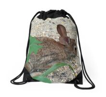 This food is for the birds! Drawstring Bag