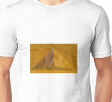 "Original  abstract digital art - ""Golden Icon"" (Cities of the Microbes 2)  Unisex T-Shirt"