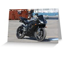 My 2002 Yamaha R1 Greeting Card