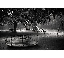 Lost Childhood Photographic Print