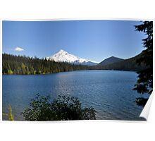 Mt. Hood at Lost Lake, Oregon Poster