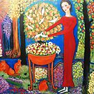 """A snake in the garden"" by catherine walker"