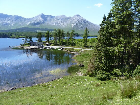 Lough Inagh, Co. Galway, Republic of Ireland by Spiritmaiden