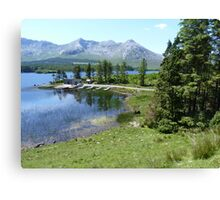Lough Inagh, Co. Galway, Republic of Ireland Canvas Print