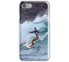 Surfin' at La Perouse iPhone Case/Skin