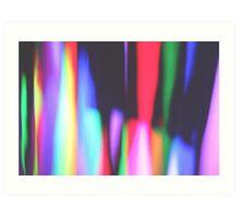 Silhouette Spectrum Art Print