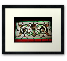 Four Dots, Ditto, Two Dots Framed Print