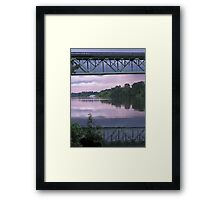 bridge series 5 Framed Print