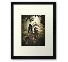 Are You My Daddy? Framed Print