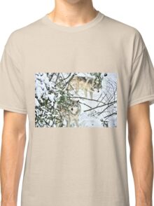 Meet me in the forest - Timber wolves Classic T-Shirt