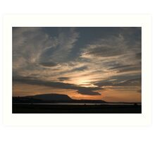 Sunset over Sligo Bay Art Print