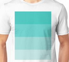 Teal Ombre Coloured Unisex T-Shirt