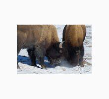 Buffalo In The Rut   #2958 Unisex T-Shirt
