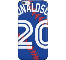 Josh Donaldson Baseball Design iPhone Case/Skin