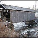 Covered Bridge in New York by Debbie Robbins