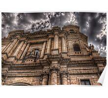 La chiesa di San Francesco - Catania Poster