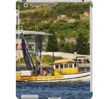 Fishing Boat - Newcastle Harbour NSW Australia iPad Case/Skin