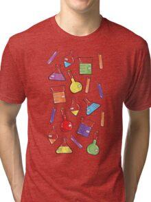 ceLABORATORY glassware Tri-blend T-Shirt