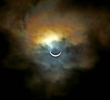 Solar Eclipse 2 by Aaron Carberry