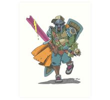 Dungeons & Dragons & MF DOOM Art Print