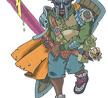 Dungeons & Dragons & MF DOOM by floatingdisc