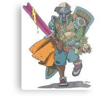 Dungeons & Dragons & MF DOOM Metal Print