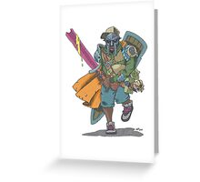 Dungeons & Dragons & MF DOOM Greeting Card