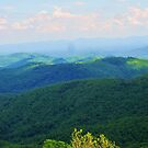 Blue Ridge Mountains by Cathy Cale