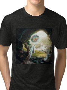 Birth of Zeus - Mythology Art Tri-blend T-Shirt