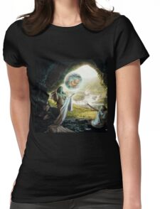 Birth of Zeus - Mythology Art Womens Fitted T-Shirt