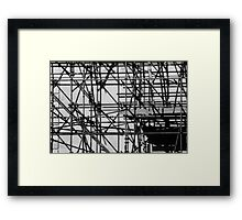 Scaffolding 02 Framed Print