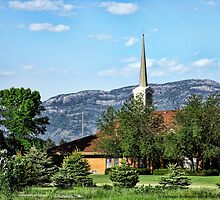 Little Church in the Mountains by rocamiadesign