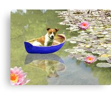 The Boat Is Back In Town Canvas Print