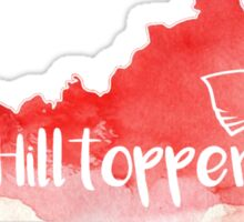WKU Hilltoppers Watercolor State Sticker