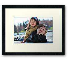 fun dayz Framed Print