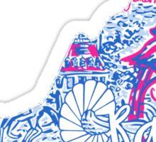VCU Rams State Sticker
