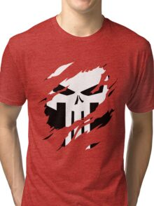 Secret Identity: The Punisher Tri-blend T-Shirt