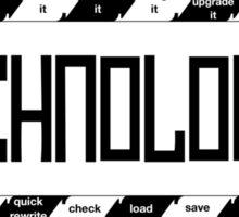 Technologic Sticker