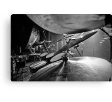Drumkit Canvas Print