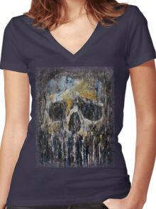 Cthulhu Women's Fitted V-Neck T-Shirt