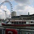 London Eye by Gica