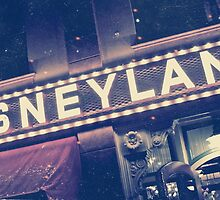 Disneyland Sign by Nick Nygard