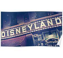 Disneyland Sign Poster