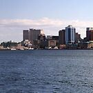 Halifax Harbour Panorama by Scott Ruhs
