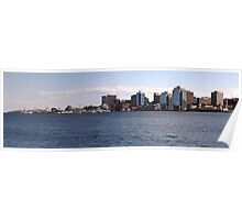 Halifax Harbour Panorama Poster