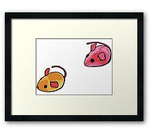 Cat toys - mice 2 Framed Print