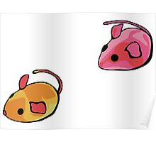 Cat toys - mice 2 Poster