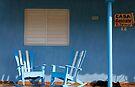 Dog Sleeping at Casa Gonzalo, Vinales, Cuba by David Carton