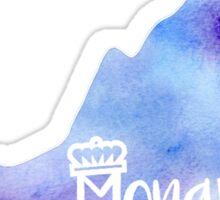 ODU Monarch Watercolor State Sticker